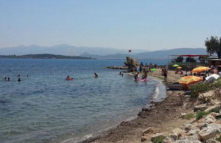 İzmir'de denize girilebilecek plajlar