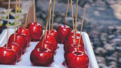 İzmir'de Elma Şekeri Satan Yerler
