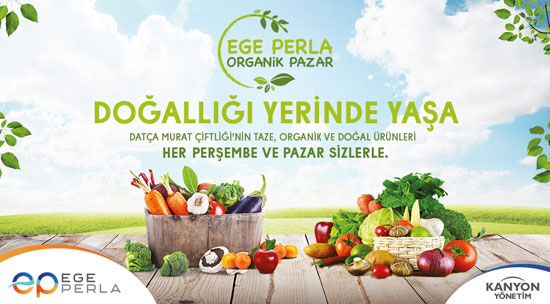 ege perla organik pazar etkinliği