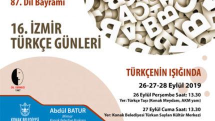 16. İzmir Türkçe Günleri
