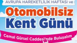 Karşıyaka'da 'Otomobilsiz Kent Günü' etkinlikleri